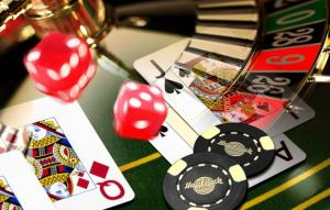 casino cards roulette dices